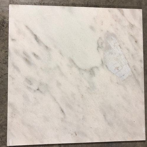 T-44 24x24 Arctic Blizzard Thick Marble Tile