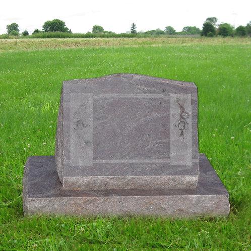 MN-142 Paradisio Graite Slant on Base Monument
