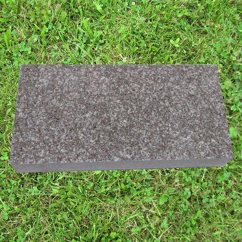 MN-236 Plumb Rose Granite Monument Flat 20x14x4
