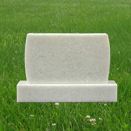 MN-181 White Granite Mini Monument