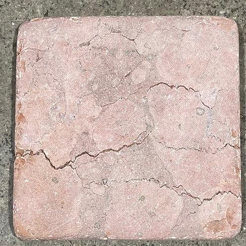 T-88 4x4 Rojo Alicante Natural Stone Tile