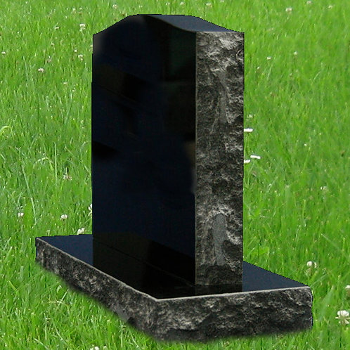 MN-69* Black Granite Mini Stone/ Pet Marker