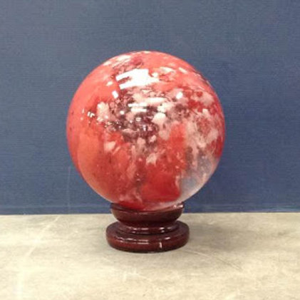 "CS-01 12"" Red Crystal Sphere *Special Order*"
