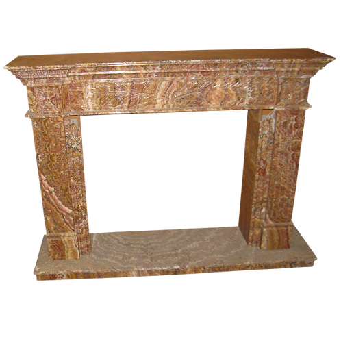 FPS-12 Red Onyx Fireplace Surround