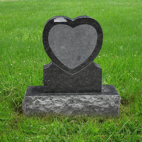 MN-127* Butterfly Blue Granite Grave Marker