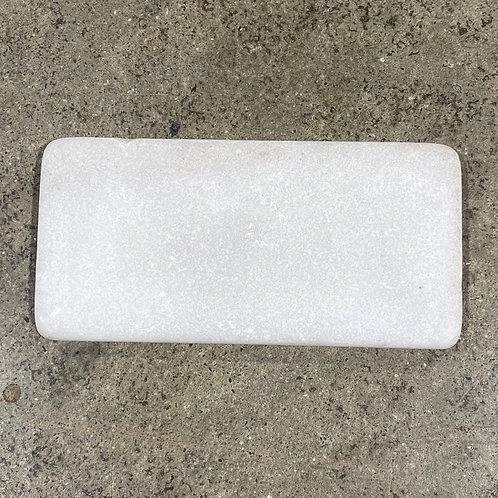 3x6 Snow Sparkle White Natural Stone Tile T-89