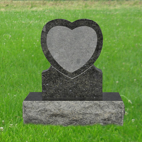 MN-85* Butterfly Blue Granite Small Tombstone