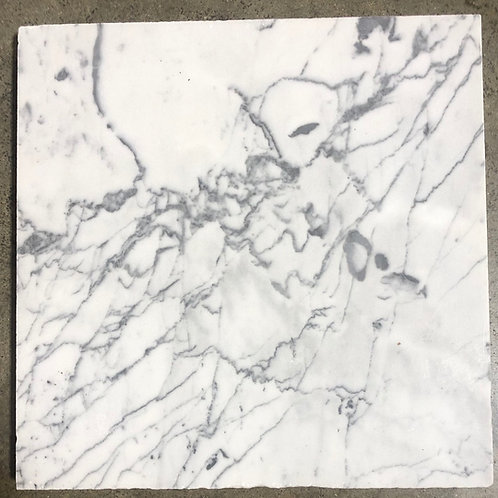 T-50 12x12 Carrara Marble 2cm Tile