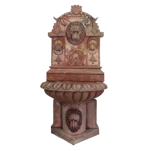 FT-50 Red Lion Wall Fountain