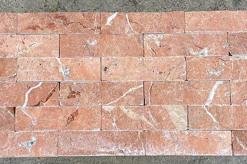 T-80 14x7 Rojo Alicante Natural Stone Brick Mosaic Backsplash Tile