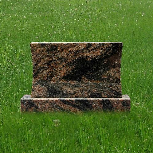 MN-177 Aurora Granite Mini Monument