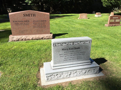Two Monuments For the Same Customer