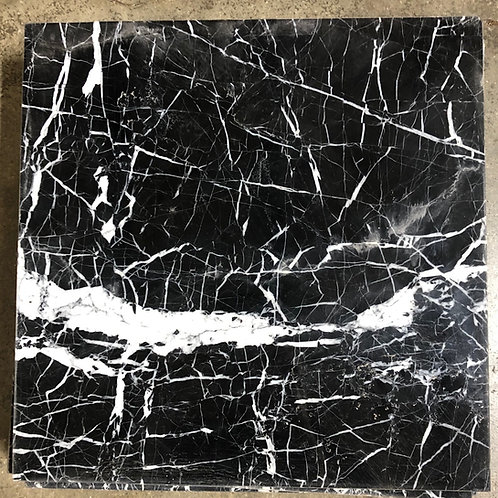 T-35 12x12 String Theory Black Marble Tile