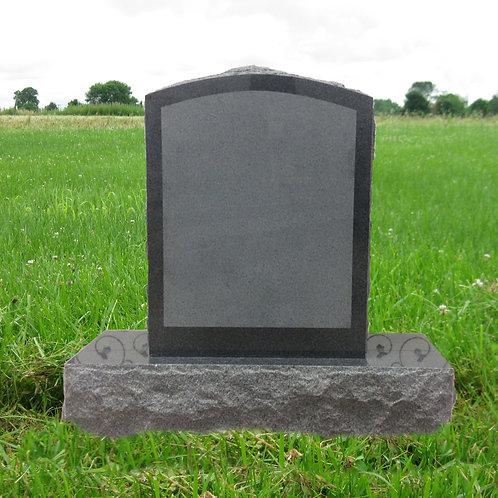 MN-203 Dark Gray Granite Small Monument