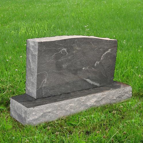 MN-33* Stardust Black Granite Cemetery Tombstone