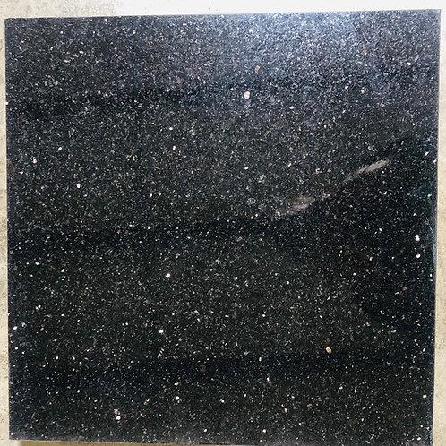 T-95 16x16 Black Galaxy Granite Tile