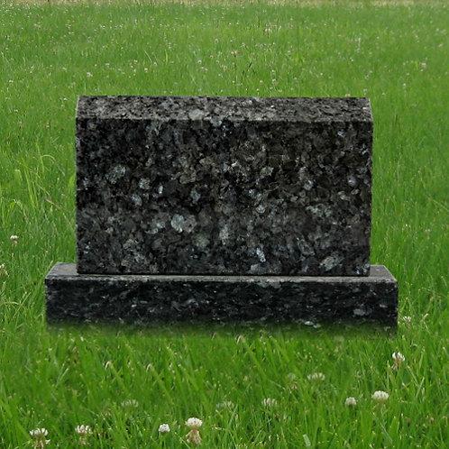 MN-183 Blue Pearl Granite Mini Grave Marker
