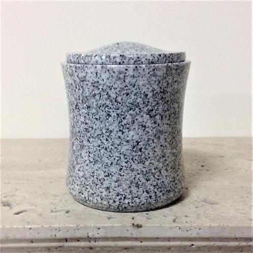 7.5x6.5 Granite Lunar Pearl Urn-E
