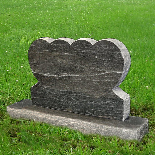MN-34 Stardust Black Granite Cemetery Tombstone*