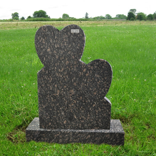 MN-120 Baltic Brown Granite Headstone