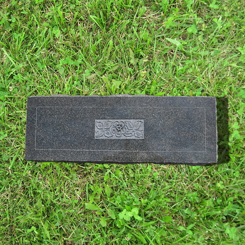 MN-160*  Tropical Green Granite Flat Marker