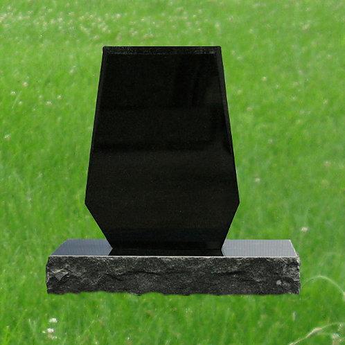 MN-83* Black Mini Burial Cemetery Monument