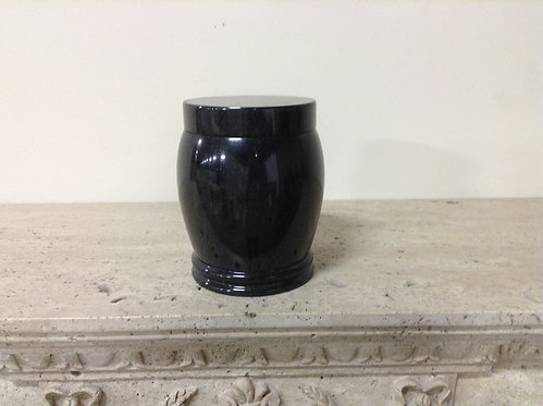 7.5x5.5 Lunar Pearl Rounded Urn-I
