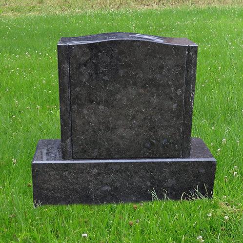 MN-108 Volga Blue Granite Grave Marker