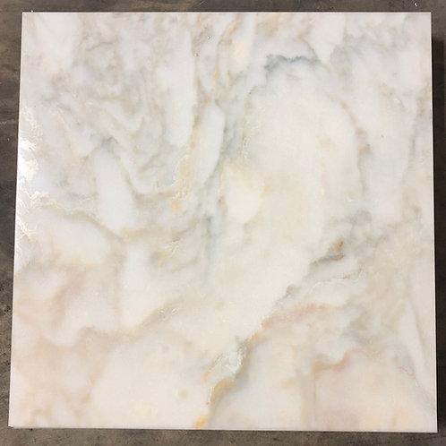 T-42 18x18 Glacier Gold Marble Tile