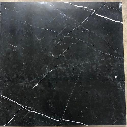 T-47 24x24 Nero Marquinia Black Marble Tile