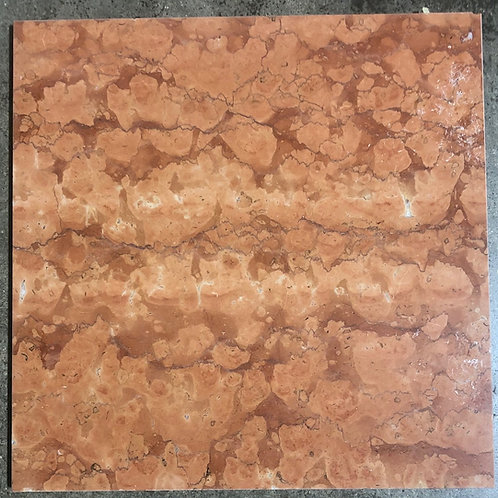 T-77 12x12 Rosso Asiago Marble Tile