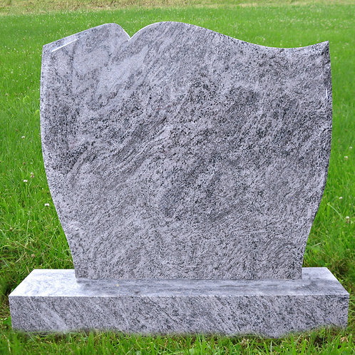 MN-48* Bahama Blue Granite Stone Plot Marker