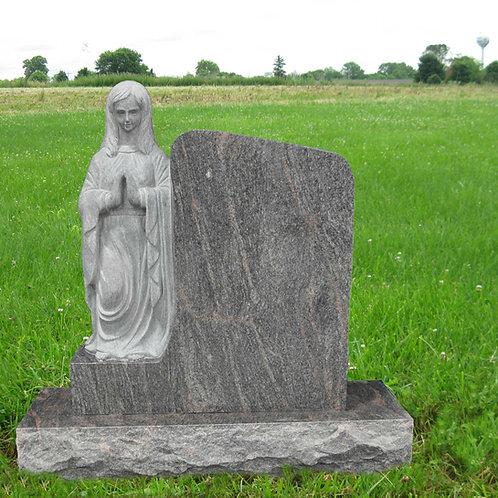 MN-07 Paradisio Guardian Statue Granite Headstone