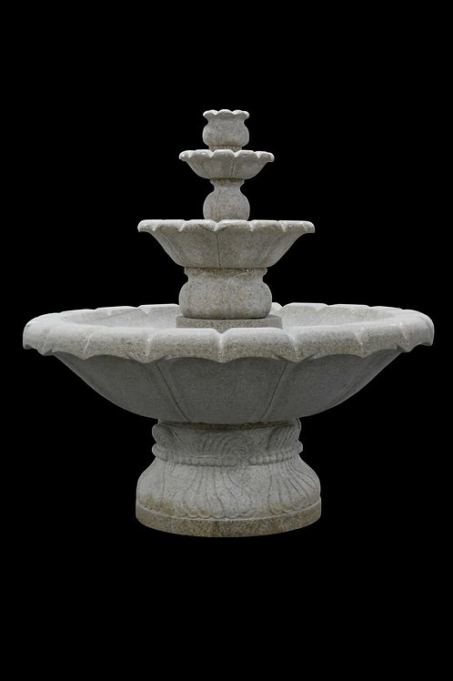 "FT-13 Golden Tan Granite 60"" Tall Fountain"