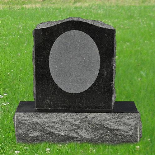 MN-88 Tropical Green Granite Small Headstone