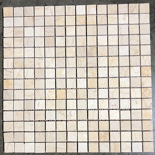 T-37 12x12 Jerusalem Gold Natural Stone Mosaic 1x1 Tile