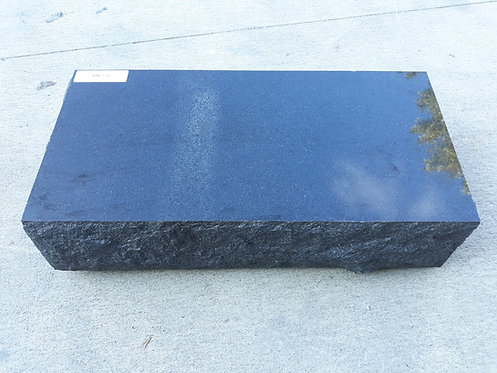 MN-319 Black Granite Slant Bevel Monument