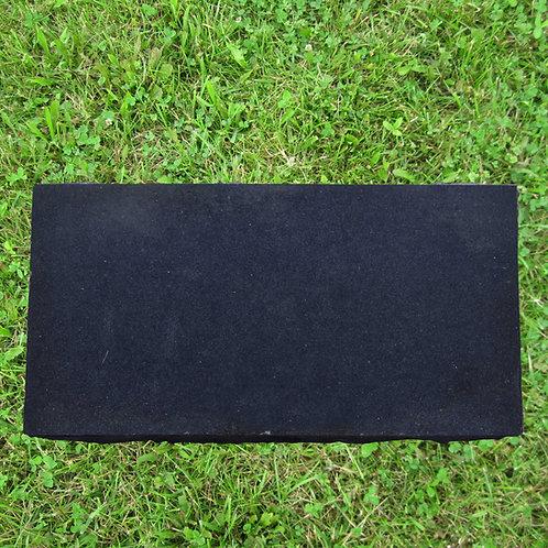 MN-133 Black Granite Flat Burial Monument