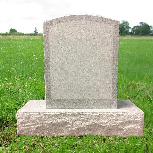 MN-200* Gray Granite Small Upright Marker