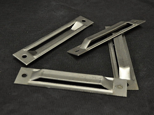 """Stainless Steel 6"""" Flat Screw-on Anchor Plate"""