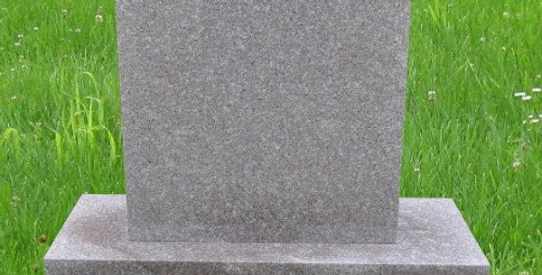 MN-95 Seashell Pink Granite Headstone
