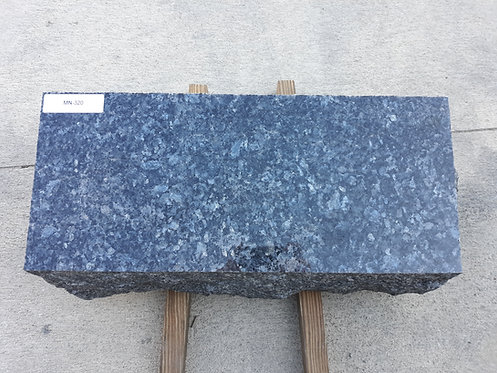 MN-320 Blue Pearl Granite Slant Bevel Monument