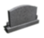 3D MONUMENT HEADSTONE DESIGN MODEL indiana