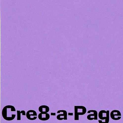 Violet/Purple Cardstock Paper 8.5x11 65#