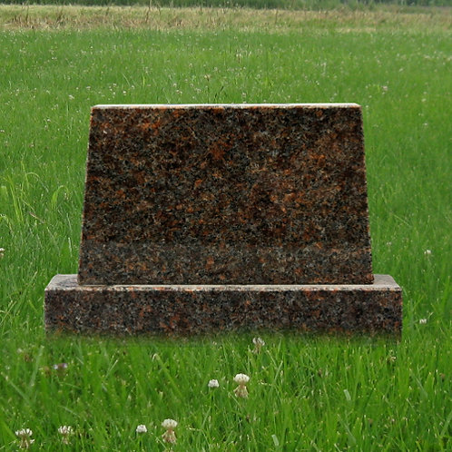 MN-178 Dakota Mahogany Granite Mini Monument