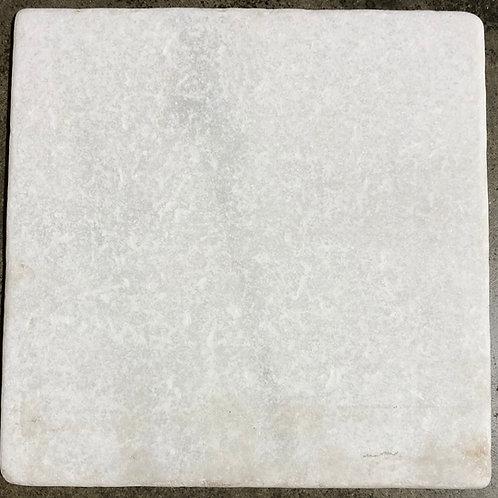 12x12 White Thassos Natural Stone Honed Finish Floor Backsplash Tile T-75