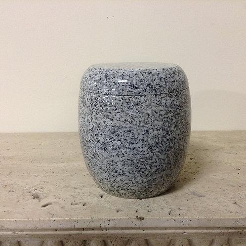 8x6.5 Granite Lunar Pearl Urn-F