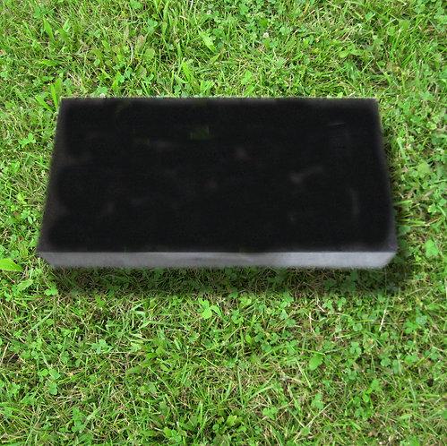 MN-226 Black Granite Flat Marker 24x12x4
