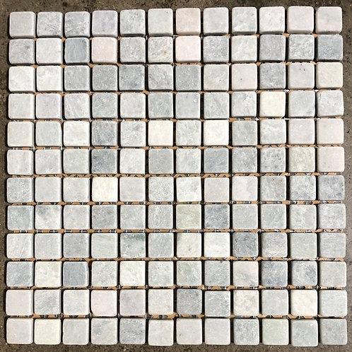 12x12 Emerald Light Mint 1x1 Natural Stone Mosaic Backsplash Tile T-72