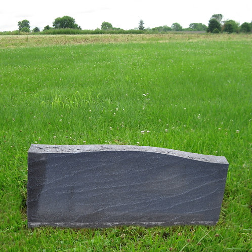 MN-171*  Stardust Black Granite Slant Marker